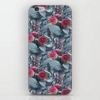 dahlia iPhone & iPod Skins featuring Dahlia by ravynka