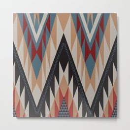 American Native Pattern No. 11 Metal Print