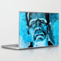 frankenstein Laptop & iPad Skins featuring Frankenstein by Pedro Nogueira