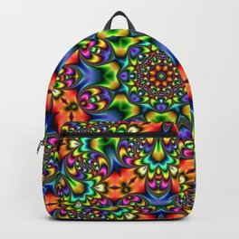 FRACTAL KALEIDOSCOPE JOYFUL DAY Backpack