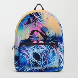 Falling Towards The Sky Backpack