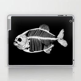 Memoria Amazonica White - Piranha Skeleton Laptop & iPad Skin