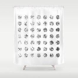 Emergence (1) Shower Curtain
