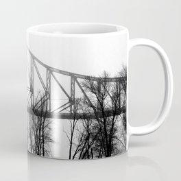 Foggy Morning Bridge Coffee Mug