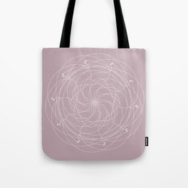 Ornament – Merry Go Round Flower Tote Bag