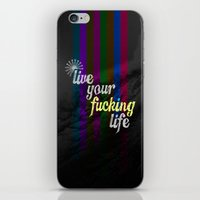 yolo iPhone & iPod Skins featuring #YOLO by Shipwreck Moon Designs