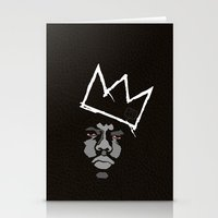 basquiat Stationery Cards featuring Biggie Basquiat by Ric_Hardwood