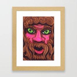 Forrest Grump - Mazuir Ross Framed Art Print
