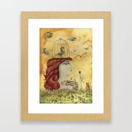 Release Yourself Framed Art Print