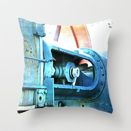 Old Steam Throw Pillow