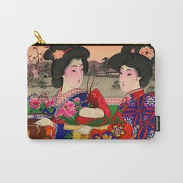 Two Geishas Carry-All Pouch