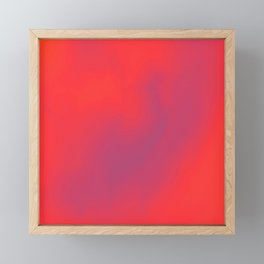 hot cloud 3 Framed Mini Art Print