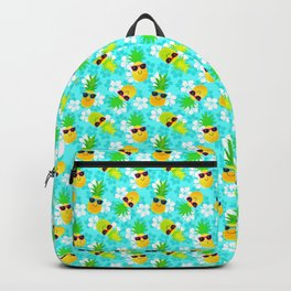 Funny Summer Tropical Pineapples Backpack