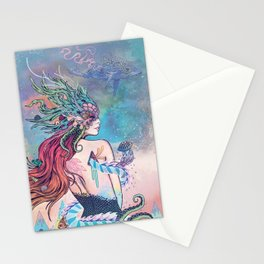 The Last Mermaid Stationery Cards