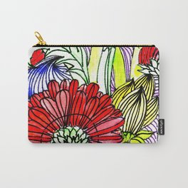 Flowers Two Carry-All Pouch