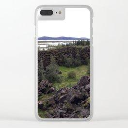 Þórsmörk (Thorsmork) The Valley Of Thor Clear iPhone Case
