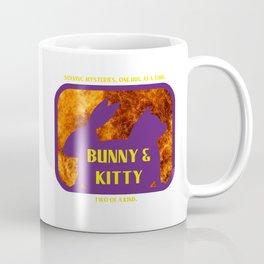 Bunny and Kitty Very Best Friends Coffee Mug