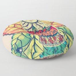 Hidden Feelings Floor Pillow