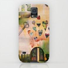 Hearts Door Galaxy S5 Slim Case