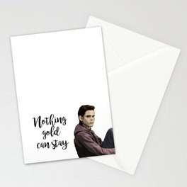 The Outsiders Ponyboy Curtis Stationery Cards