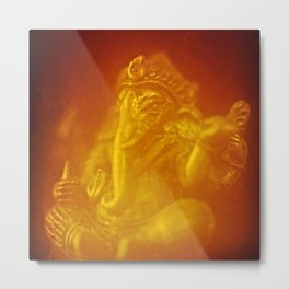 Ganesh, remover of obstacles Metal Print