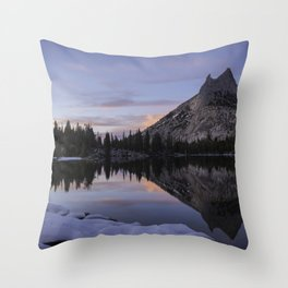 Cathedral reflections - Church in the Sierra Throw Pillow