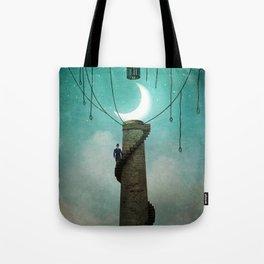Enter the Sky Tote Bag