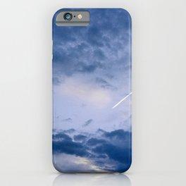 periwinkle light iPhone Case