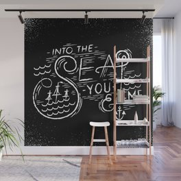 Into-The-Sea Wall Mural
