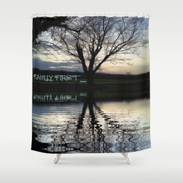 Family First Shower Curtain