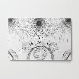 Circle art Metal Print