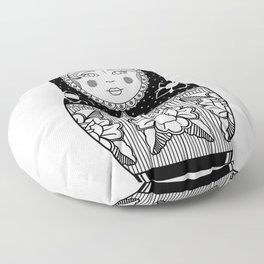 The Russian Doll Floor Pillow