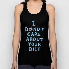 Donut Care Unisex Tank Top