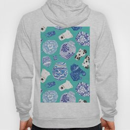 Chinoiserie Curiosity Cabinet Toss 6 Hoody