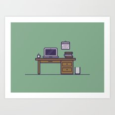 Command Center Art Print