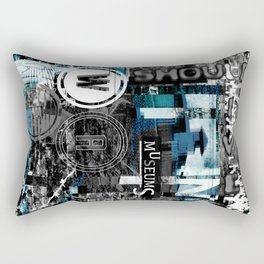 War should live in museums. Rectangular Pillow