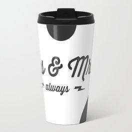 Mrs & Mrs Travel Mug
