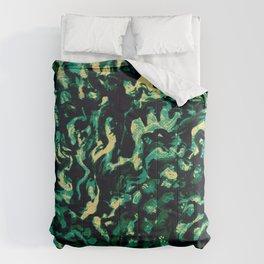 Coral Groovism Comforters
