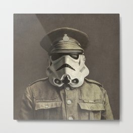 Sgt. Stormley - square format Metal Print