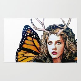 Ooh, Bella Donna - Fairy Stevie Nicks Rug