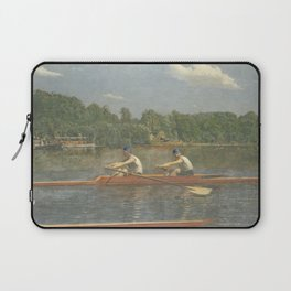 The Biglin Brothers Racing by Thomas Eakins Laptop Sleeve