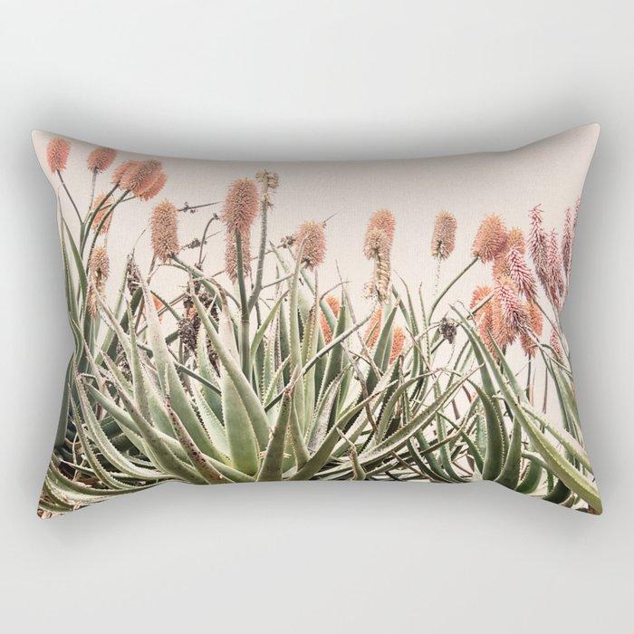 Cactus Blooms 2 Rectangular Pillow