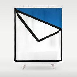 Geometric Design by Dominic Joyce Shower Curtain
