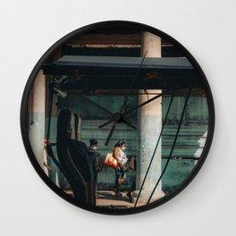 Havana Humans Wall Clock