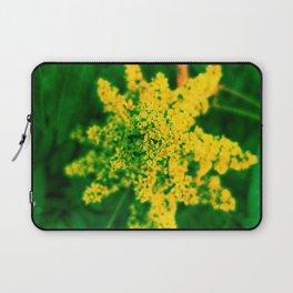 Yellow Sumac Bloom Laptop Sleeve