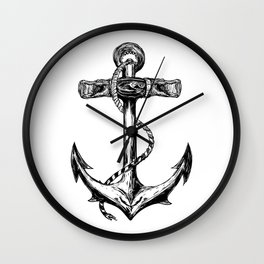 The Anchor Wall Clock