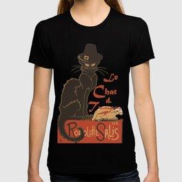 Le Chat De Thanksgiving T-shirt