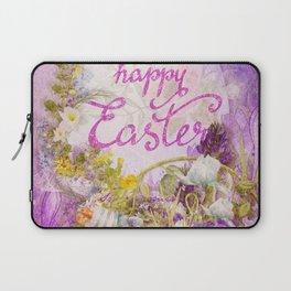 Purple Easter Laptop Sleeve