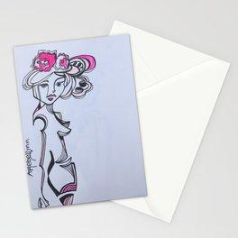 Street Girl 2 Stationery Cards