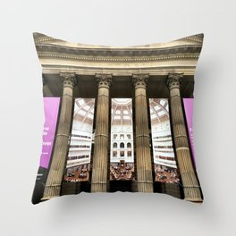 State Library Victoria Throw Pillow